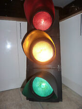 Genuine London Red/Amber/Green Traffic Light Head - Rewired for Home/Garden Use