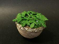 Dollhouse Miniature Decoration - Pot Plant 1 - 3cm diameter