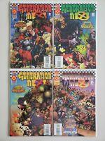 X-Men Generation Next 1 2 3 4 Marvel 1995 Complete Set Series Run Lot 1-4 VF/NM