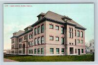 Salem OR, High School, Vintage Oregon Postcard
