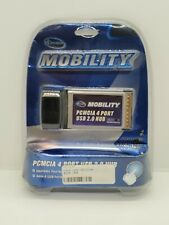 Iconcepts Mobility Pcmcia Laptop 4 Port Usb 2.0 Hub New Sealed For Notebook Pc