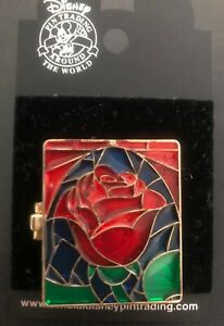 Disney Trading Pin 2006 Belle Hinged Stained Glass