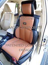 TO FIT A MERCEDES E CLASS CAR, SEAT COVERS, YS 09 ROSSINI SPORTS TAN / BLACK