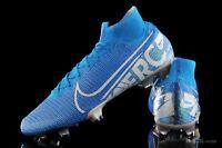 Nike Mercurial Superfly 7 Elite FG NEW LIGHT BLUE WHITE AQ4174-414 Soccer Cleats