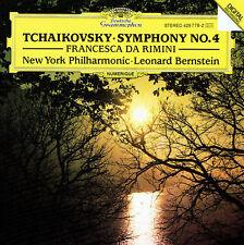 CD Leonard Bernstein Tchaikovsky Symphony No. 4 Francesca Da Rimini