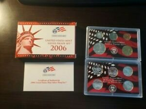 2006 US MINT SILVER PROOF SET - Complete w/ Original Box and COA