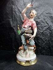 Pirate With Chest  -  Hand Painted -  Top Quality    (Pirate # 1)