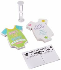 Amscan 380063 Baby Shower Mums the Word Game