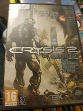 Crysis 2 - Limited Edition PC, complete with manual and in nice condition