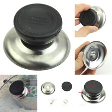 2Pcs New Stainless Steel Pan Pot Cover Lid Knob Handle Anti-scald Kitchen Tools