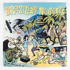 V/A BRAZILIAN NUGGETS VOL 2 LP NEW PORTUGAL IMPORT VINYL GROOVIE GARAGE PSYCH
