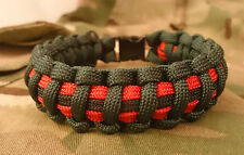 La brigade des Gurkhas Welfare Trust Inspiré Paracord 550 Bracelet