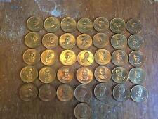 THE FIRST 36 PRESIDENTS >>>PRESIDENTIAL FACTS COINS/TOKENS  (COIN/TOKEN)