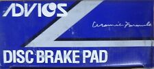 BRAND NEW ADVICS FRONT BRAKE PADS 100.11180 / D1118 FITS VEHICLES ON CHART