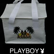 NEW Playboy Lunch Bag Tote Box Insulated Cooler Drink Food Picnic Beach Bunny 21