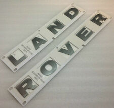 Land Rover Freelander 2 Genuino Nuevo Sombrero Insignia Calcomanía Letras En Gris Brunel