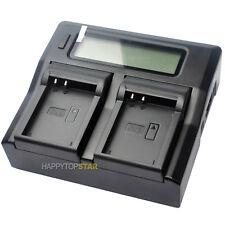 Dual LCD Fast Quick Charger For Nikon EN-EL23 P600 P610S S810 P900 B700 MH-67P