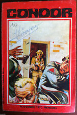 c)BD Petit Format Guerre; CONDOR n°7 Année 1970 Ed. Les Editions de Poche