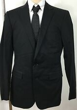 Ralph Lauren Black Label Suit Jacket Sport Coat 36 R Cotton