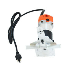 600W 30000RPM Electric Hand Trimmer Wood Laminate Palm Router Joiner Tool Device