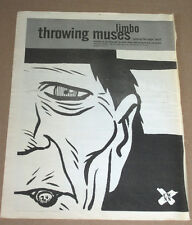 THROWING MUSES - LIMBO - 1996 VINTAGE ORIGINAL ADVERT POSTER