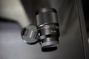 Sony Zeiss distagon T 35mm F1.4 razor sharp