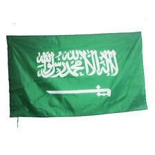Outdoor Fußball banner  SAUDI-ARABIEN  FLAGGE - dekoration polyester - 90x150 cm