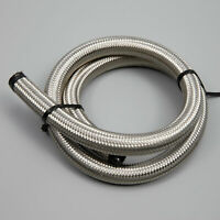 Fuel Hose AN-10 AN10 Stainless Steel Braided Fuel Hose Oil Cooler Hose 1M