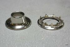 Sailboat Parts 5 Rolled Rim Sail Grommets With Spur Washers Hardware Sailing