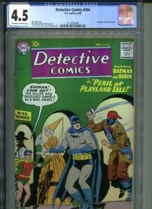 DETECTIVE COMICS #264 OW/White Pages Ad for Flash #105 Inside