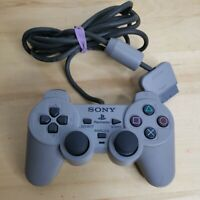 Sony Playstation PS2 DualShock Analog Gray Wired Controller SCPH-1200 OEM WORKS