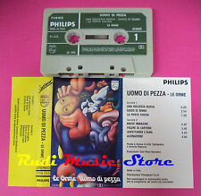 MC LE ORME Uomo di pezza 1972 italy PHILIPS 7119 013 no cd lp dvd vhs
