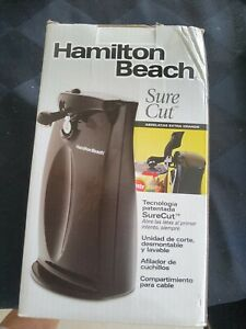 hamilton beach electric can opener sure cut Technology With Knife Sharpener