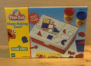 1998 Sesame Street Play-Doh Shape-Making Easel~Factory Sealed~MIP
