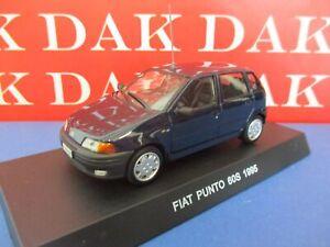 Die cast 1/43 Modellino Auto Carabinieri Fiat Punto 60 S 1995 blu