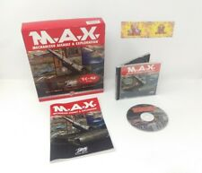 MAX M.A.X.1 Mechanized Assault & Exploration Big Box PC Game RTS Strategy Space