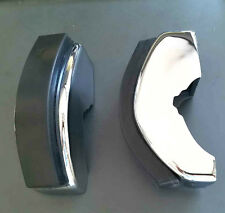 Porsche 911 912 65-73 Narrow Non S Front Bumper Guards With Pads-New