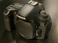 Canon EOS 60D 18.0MP Digital SLR Camera - Black (Body Only) 3339 Shutter Count