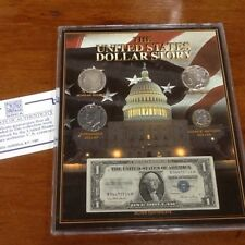Dollar Story Silver Morgan Peace Eisenhower Genuine Dollars US Mint Currency