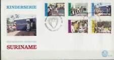 Suriname republiek 1986 FDC E109 onbeschreven open klep