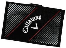 "Callaway Golf Cotton Tour Towel 30"" x 20"" Soft absorbent Woven Loop NEW"