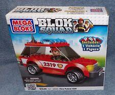 MEGA BLOKS BLOK SQUAD FIRE PATROL ATV SET #2432