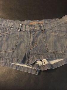 missimo Supply  co sz 17 jean shorts, short thin jean material