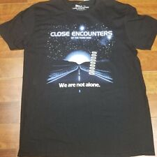 Close Encounters Of The Third Kind Men's Black Large Movie Graphic T-Shirt Nwt