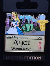 Disney WDI C Ticket Series: Alice in Wonderland Pin LE 300