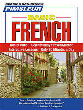 Pimsleur French Basic Course - Level 1 Lessons 1-10 CD: Learn to Speak and Understand French with Pimsleur Language Programs by Pimsleur (CD-Audio, 2008)
