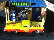 100% HW SHELL OIL DELIVERY  '57 FORD RANCHERO RUBBER TIRE LIMITED