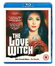 The Love Witch [Blu-ray] [DVD][Region 2]