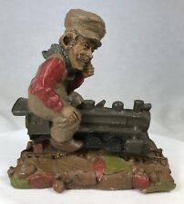 "Tom Clark Gnome Chief on Train Engine #98 Edition #64 5.5"" Cairn Studio"