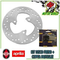 Set Brake Disc Front + Pads Organic Peugeot Speedfight 50 1996 IN On